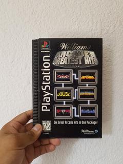 Williams Arcade Greatest Hits (long Box) Playstation 1 V/c