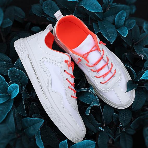 Verão Masculino Respirável Casual Malha Sapatos Esportes