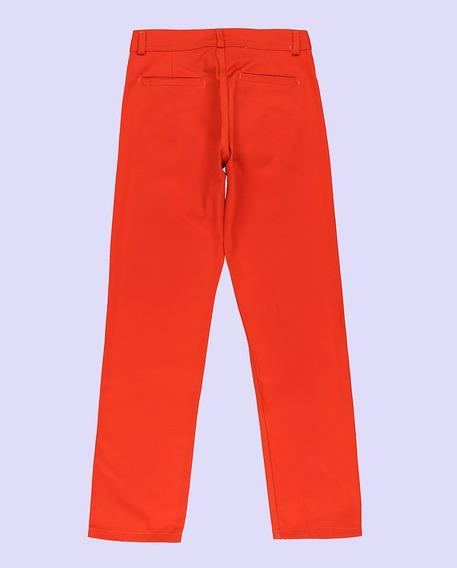 Pantalon De Trabajo, Color Naranja, Tipo Grafa