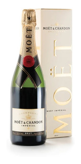 Champagne Champaña Moet Chandon Brut Imperial Estuche 750ml