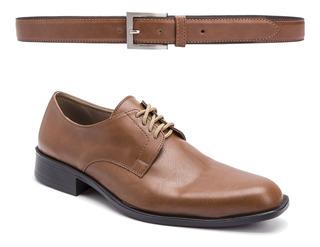 Zapatos Hombre Con Cinto Moda Eco Cuero Simón De La Costa