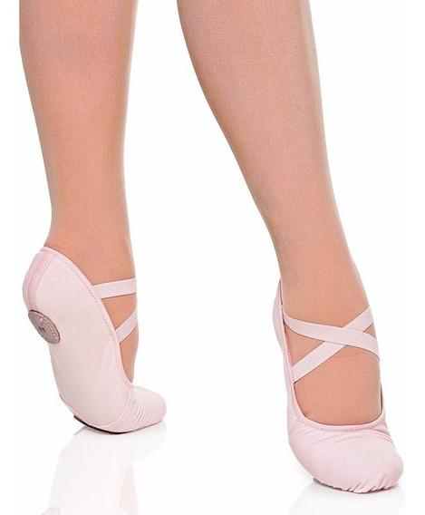 Sapatilha Ballet Glove Foot Lona Pano Strecht