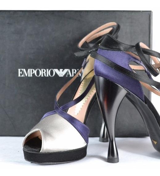 Emporio Armani 24.5 Mex Zapatillas Negro/morado