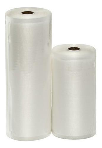 Rollo De Plastico Corrugado Empaque Al Vacio Paquete X 2