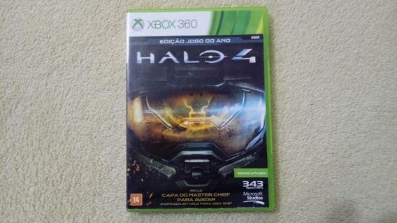 Jogo Halo 4 Edição Jogo Do Ano Xbox 360 Original
