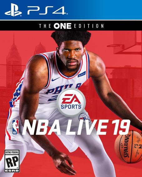 Nba Live 19 The One Edition Ps4 Promoção