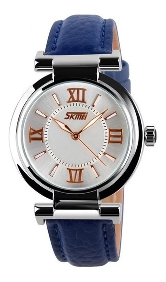 Relógio De Pulso Feminino Skmei 9075 Original