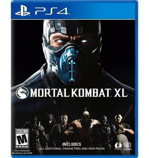 ..:: Mortal Kombat Xl Para Ps4 ::.. En Game Center