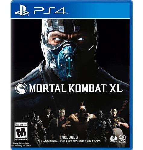 ..:: Mortal Kombat Xl Para Ps4 ::.. En Game Center