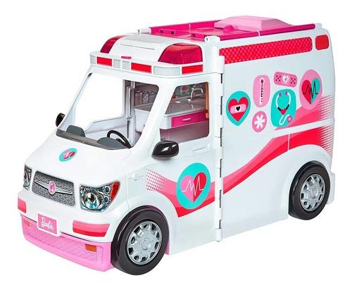 Barbie Set Hospital Movil Ambulancia Mattel Original
