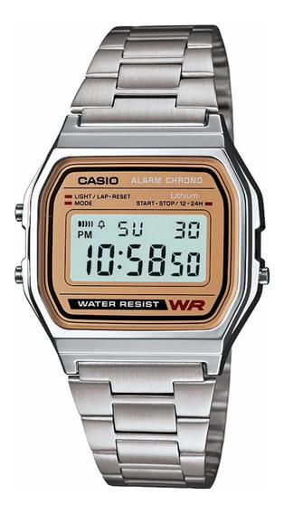 Reloj Casio Vintage Unisex Modelo:a158wea-9vt