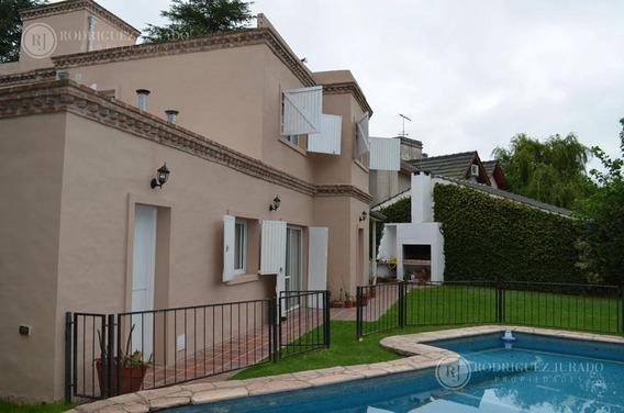 Casa En Alquiler- Country Club Los Lagartos - Pilar