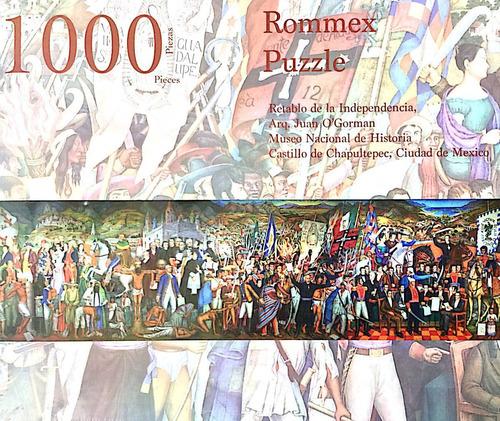 Imagen 1 de 2 de Rompecabezas De 1000 Piezas: Mural Retablo De La