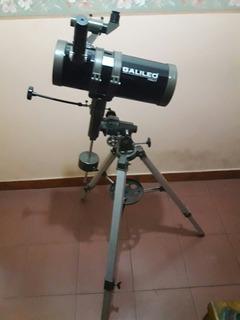 Telescopio Galileo Ecuatorial 1000mm X 114