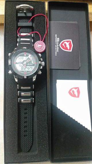 Relógios Shark Borracha Ds006l