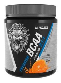 Bcaa 2:1:1 300g - Predator (com Vitamina B6 ) - Nutrata