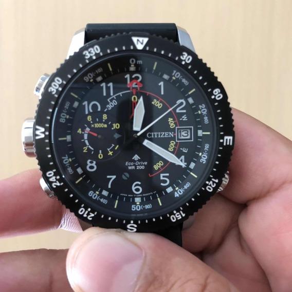 Relógio Citizen Promaster Bn4044-15e Sky Altichronograph