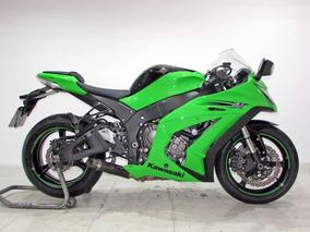 Kawasaki Ninja Zx-10r 2012 Verde