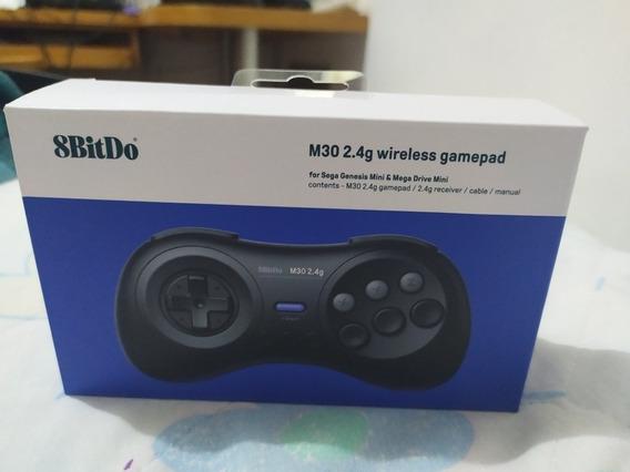 8bitdo M30 2.4g Controle Para Mega Drive Mini Sem Fio