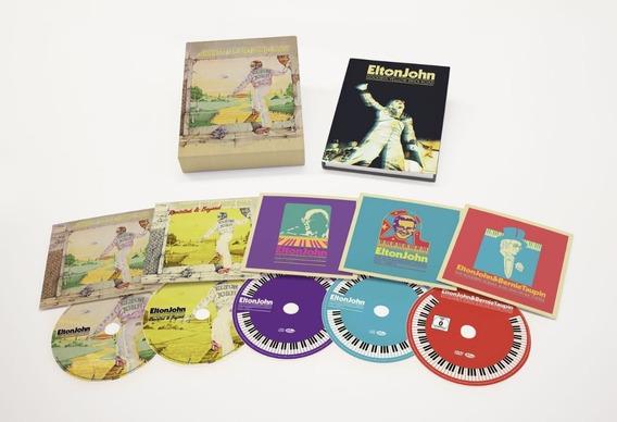 Elton John Goobye Yellow Brick Road Box Set Cd Dvd Pronta E