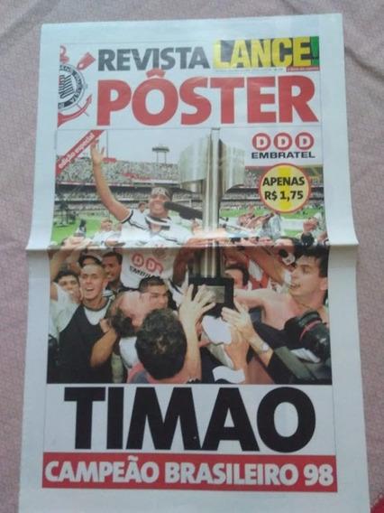 Revista Lance Timão Campeão Brasileiro 1998