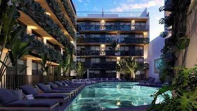 Departamento Venta Playa Del Carmen Urban Tower $315,000 Usd Marjos E1