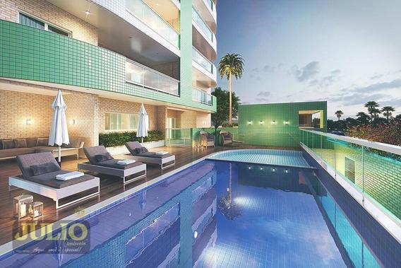 Entrada R$ 77.000,00 + Saldo Super Facilitado, Use Fgts, Com 2 Dormitórios, 73 M²- Centro - Itanhaém/sp - Ap0996