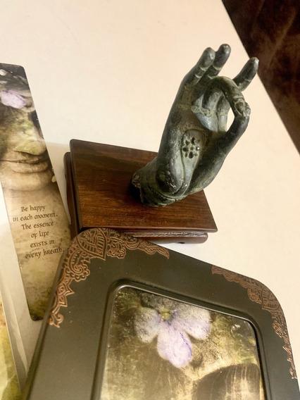 Juego Mano Buddha Tarjetas Y Sobres, Diario, Marca Libros