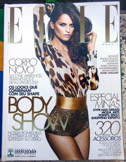 Revista Elle Brasil Nº 280 Izabel Goulart Beyoncé Set 2011