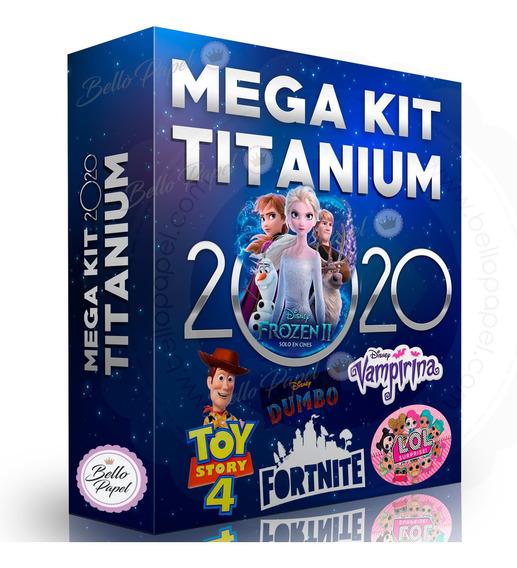 Mega Kit Empresarial Titanium + Curso De Diseño En Vídeo