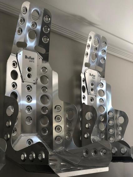 Banco Concha Bullet Parts Em Alumínio Tamanho G + Suporte Completo + Brindes + Frete Grátis Rs Sc Pr Sp