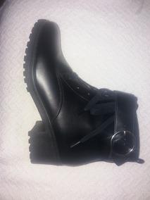 Bota Botin Negro Nuevo Via Uno 38