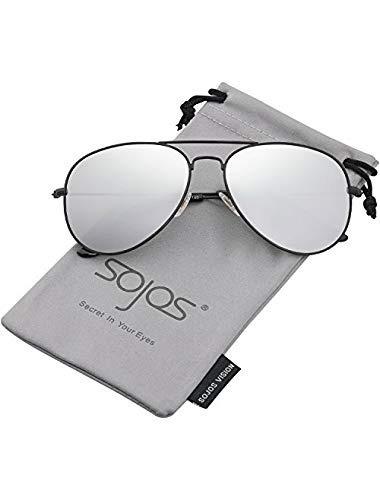 738f76f41 Gafas Lentes De Sol Unisex Aviator Clásico Metal Polarizados - $ 375.00 en  Mercado Libre