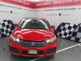 Civic Coupe Aut Modelo 2015 Rojo