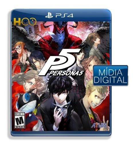 Persona 5 - Ps4 Cod Psn I Entrega Imediata