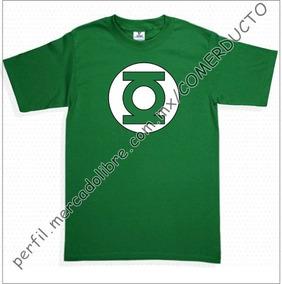Playera Sheldon Linterna Verde Playera Green Lantern Insk