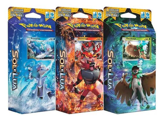 Pokémon Sol E Lua Jogos De Cartas Oficial Copag