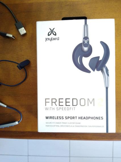 Fone De Ouvido Bluetooth Esportivo Jaybird Freedom 2 Preto