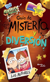 Libro Gravity Falls Guia De Misterio Y Diversion Español