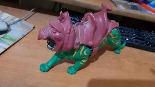 Muñeco Battle Cat Serie He-man Motu Mattel Decada 1980