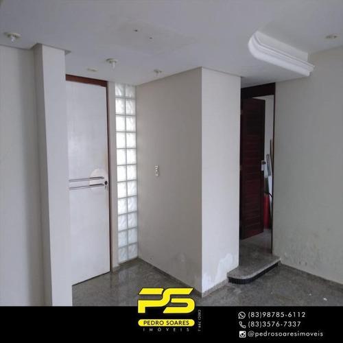 Apartamento Com 4 Dormitórios À Venda, 380 M² Por R$ 850.000,00 - Bessa - João Pessoa/pb - Ap3736