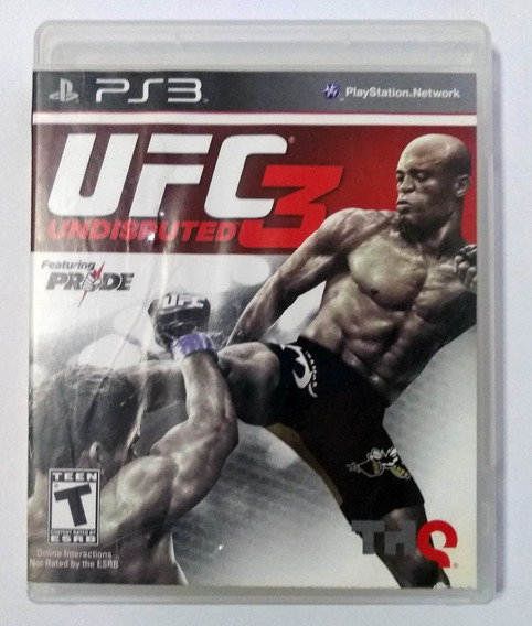 Ufc Undisputed 3 Ps3 Mídia Física