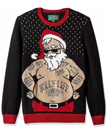 Suéter De Navidad Santa Papá Noel