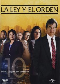 La Ley Y Orden Decima Temporada 10 Serie Dvd