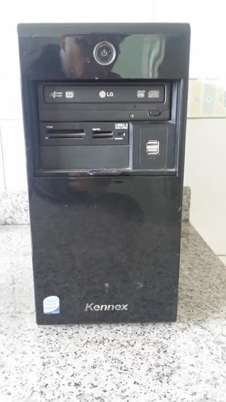 Computador Pc Pentium C2d 2,4mhz 2gb Mem Marca Kennex