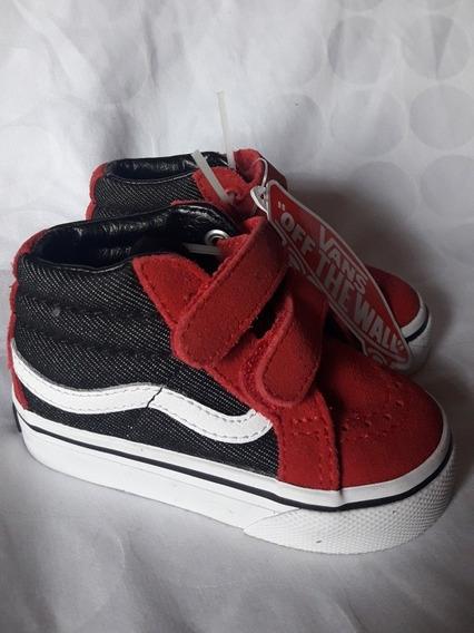 Zapatillas Vans Niñ@s Sk8 Nuevas Originales Usa Talle 19
