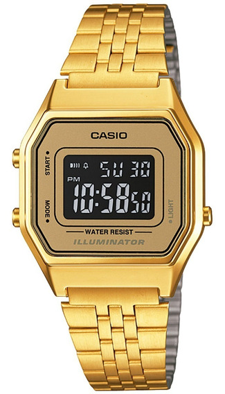Relógio Casio Vintage Unissex La680wga-9bdf