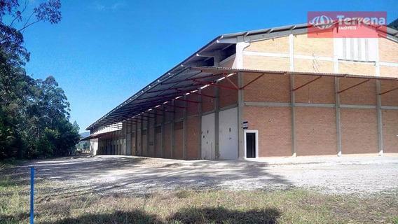 Galpão Industrial, Comercial Ou Para Depósito Com 7.000m² De Área Construída Em Gaspar - Ga0108