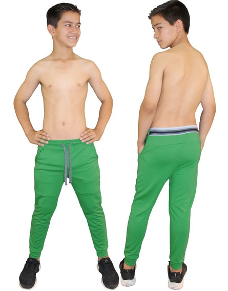 Pants Jogger Liso Para Niños Linea Fenix Fit Kids