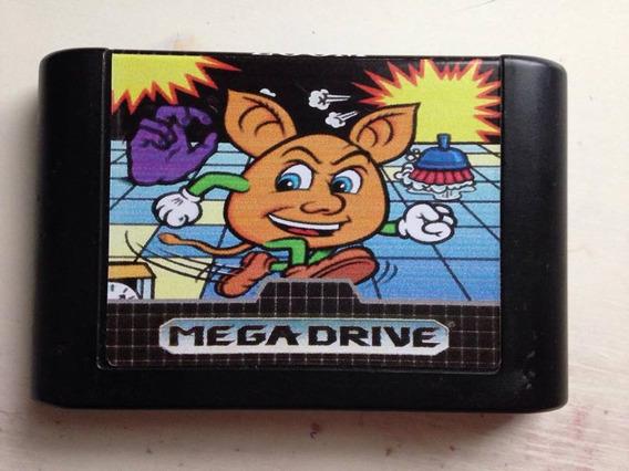 Mega Drive Sega Tec Toy Jogo Zoom Ótimo Estado R$129,95